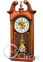 Настенные часы Rhythm High Grade Wooden Clocks CMJ582NR06