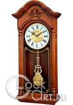 Настенные часы Rhythm High Grade Wooden Clocks CMJ584NR06