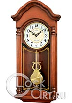 Настенные часы Rhythm Wooden Wall Clocks CMJ585NR06