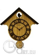 Настенные часы Rhythm Wooden Wall Clocks CMP535NR06