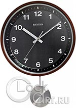 Настенные часы Rhythm Wooden Wall Clocks CMP550NR06