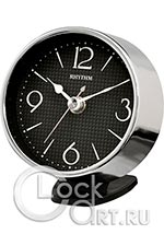 Настольные часы Rhythm Glass And Metal Clocks CRG122NR19