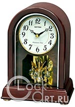 Настольные часы Rhythm Wooden Table Clocks CRH249NR06