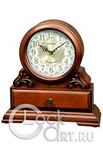Настольные часы Rhythm Wooden Table Clocks CRH261NR06